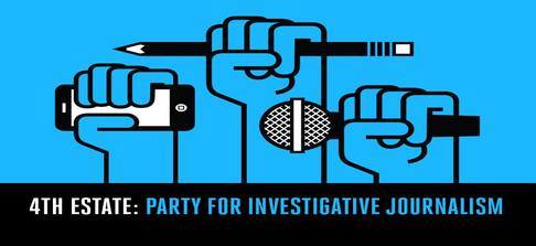4th Estate:  Party for Investigative Journalism @ 23 Prospect Avenue | San Francisco | California | United States